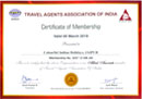 colorfulindianholidays certificate 2019