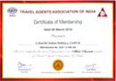 colorfulindianholidays certificate 2019