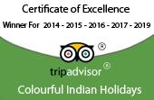 tripadvisor of india tour operator