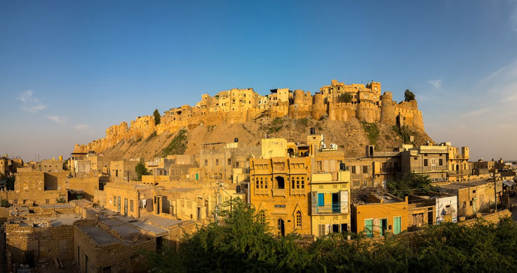 jaisalmer fort with Rajasthan Forts And Palaces Tour Packages