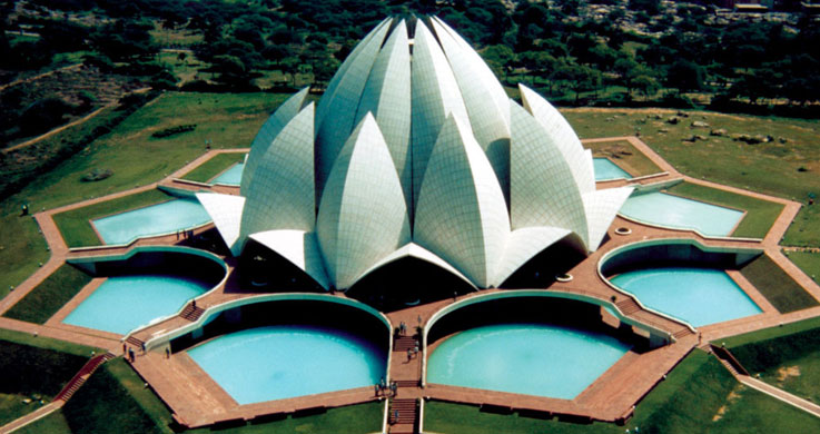 lotus temple with Golden Triangle with Shimla Tour