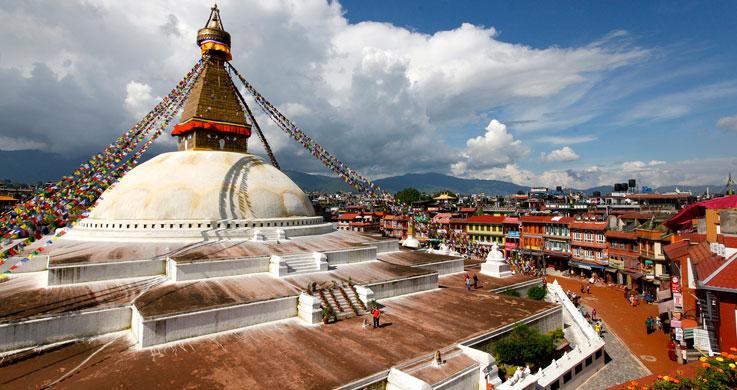 nepal buddha nath temple