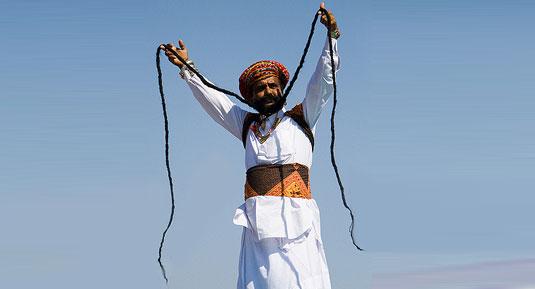 desert festival mustache