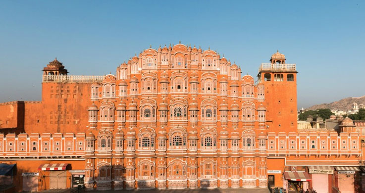 hawa mahal with Golden Triangle Tour With Khajuraho And Varanasi