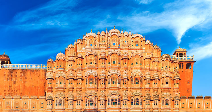 hawa mahal with golden triangle with shekhawati tour