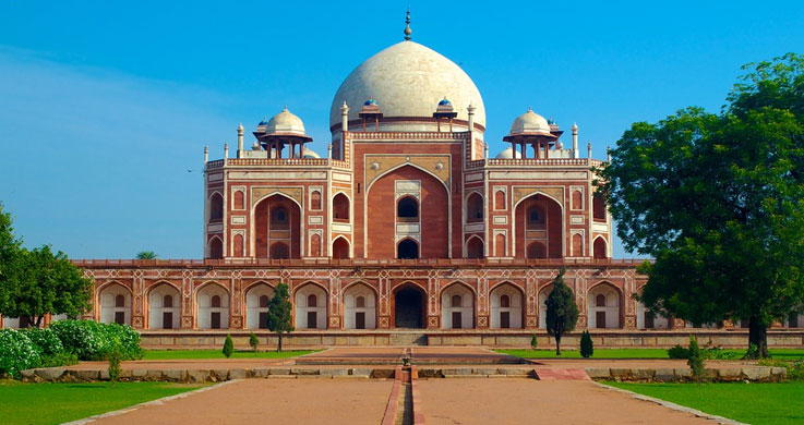 humayun tomb with golden triangle tour with khajuraho and varanasi