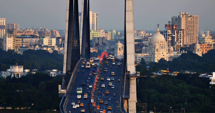 kolkata hogly bridge