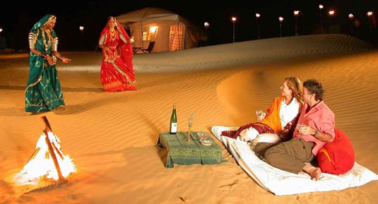 Golden triangle with rajasthan tour packages