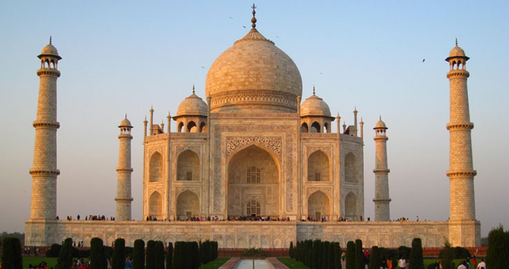 taj mahal with golden triangle with shekhawati tour