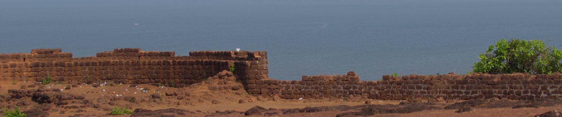 Vagator fort Mapusa