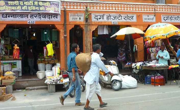 Baazar in Jaipur