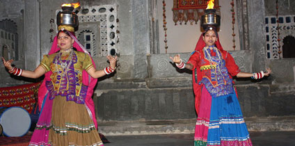 Chari Dance With Rajasthan tourism and travel guide