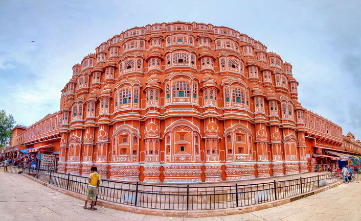 Image result for Jaipur Hawa Mahal