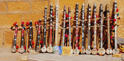 Musical Instruments Of guide to Rajasthan travel,