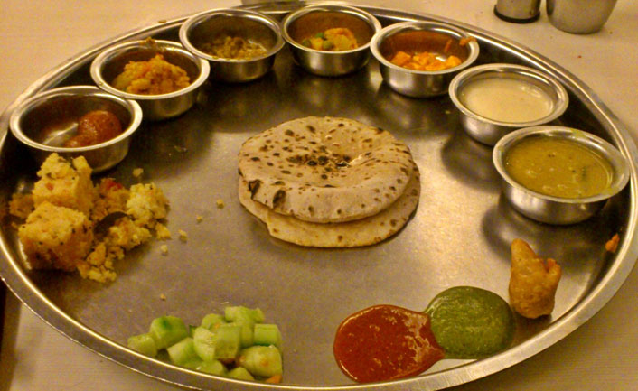 Traditional cuisine of Udaipur
