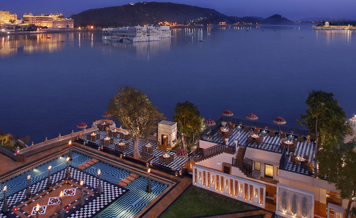 Udaipur Romantic Palace in india