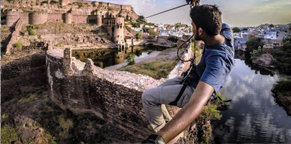 Zip Lining in Rajasthan local guide