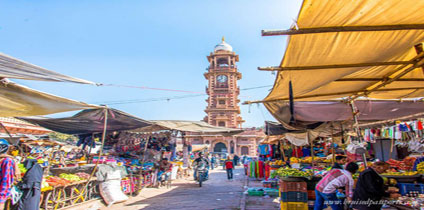 street markets of Jodhpur With Rajasthan tour and travel guide