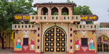 chokhi dhani in jaipur with best Food in our Rajasthan travel guide