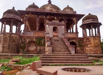 36_Pillars_Chh36 Pillars Chhatri Ranthambore Fort Sawai Madhopur
