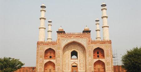 Agra Akbar Tomb