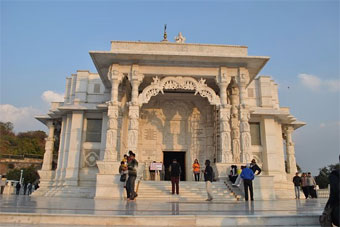 Birla Mandir tourist attractions in Jaipur