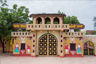 Chokhi Dhani tourist attractions in Jaipur