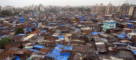 Dharavi Slum Mumbai