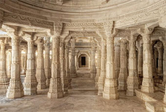 Dilwara Jain Temple in splendors of Rajasthan