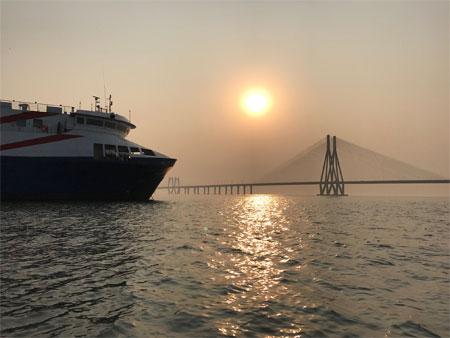 Mumbai Veiw Sunset