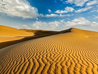 Sand Dunes splendors of Rajasthan