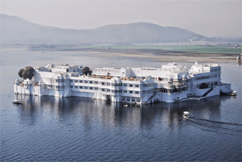 city of Lakes of Udaipur in splendors of Rajasthan