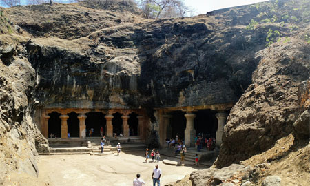 Mumbai Elephanta Caves