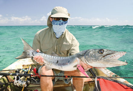 Enjoy Fishing at Barracuda Bay
