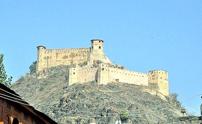 Hari Parbat Fort in shrinagar