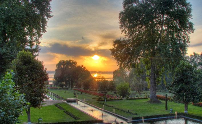Harwan Gardens - A picturesque picnic spot