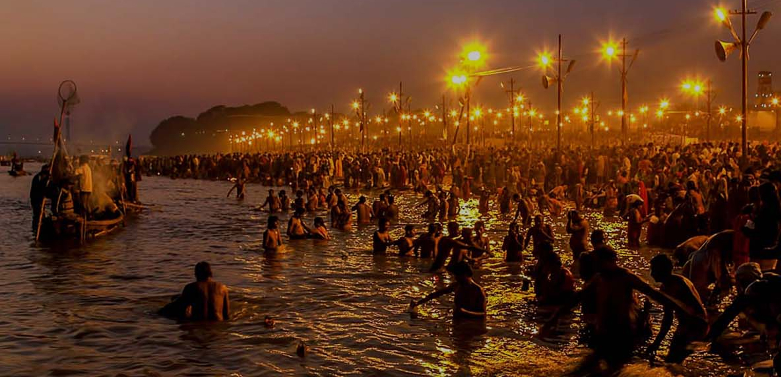 Amazing night experience during Allahabad Kumbh Mela