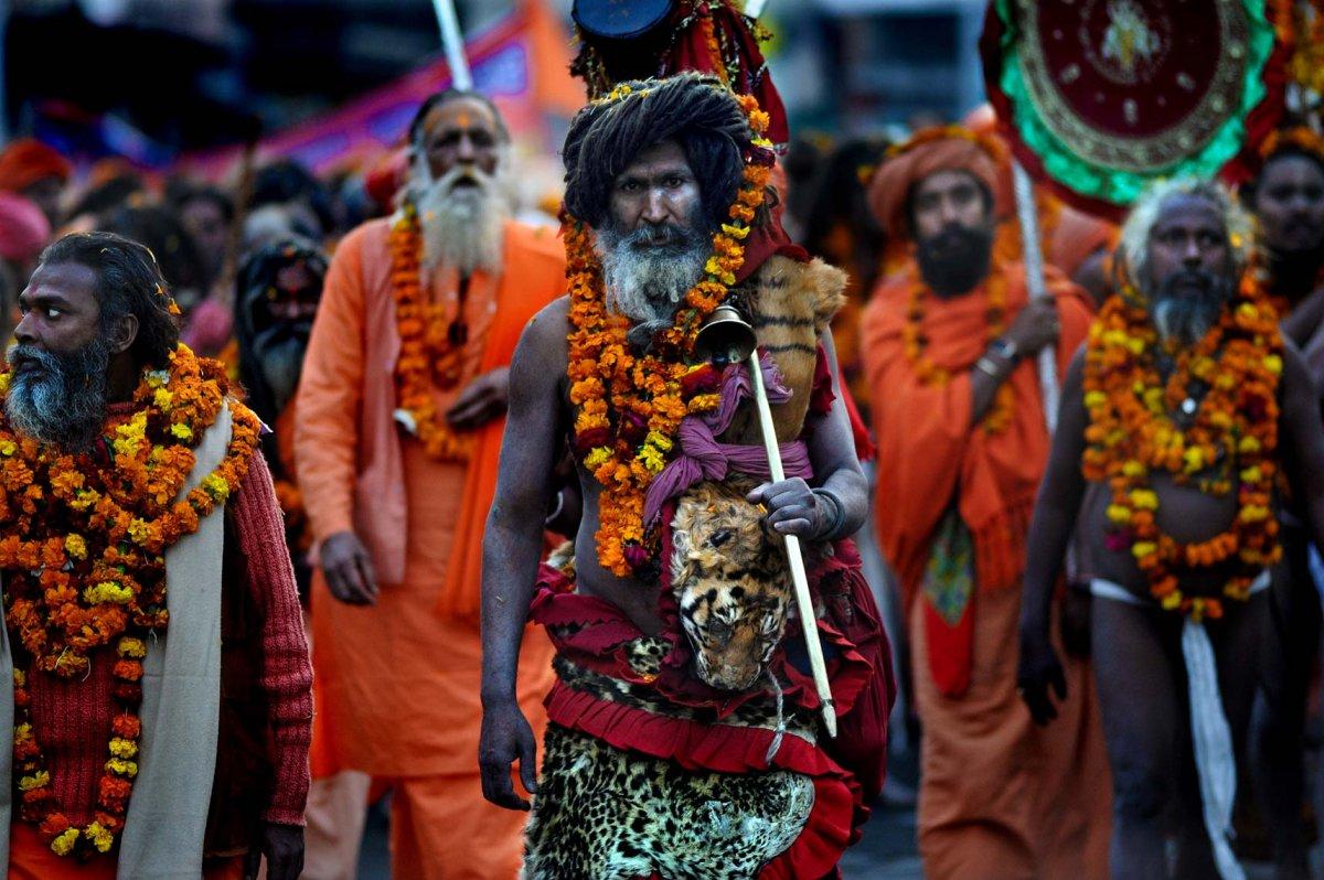 Parivajakash during Kumbh Mela