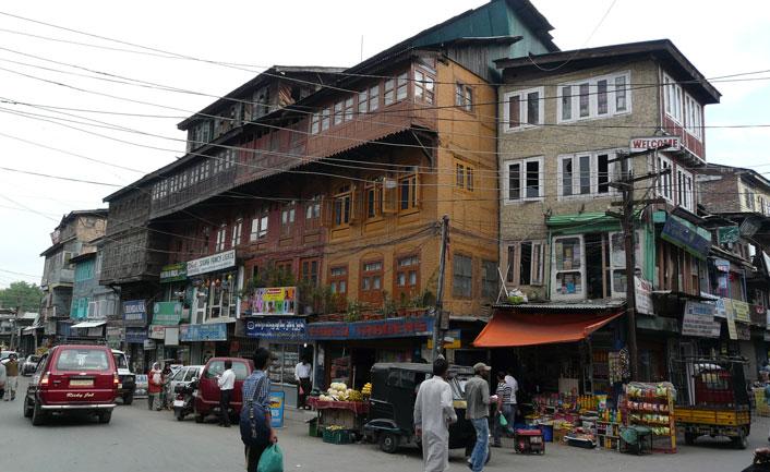Lal Bazaar in shrinagar