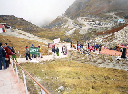 Nathu La Stairs in gangtok