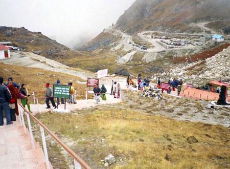 Nathu La Stairs in gangtok