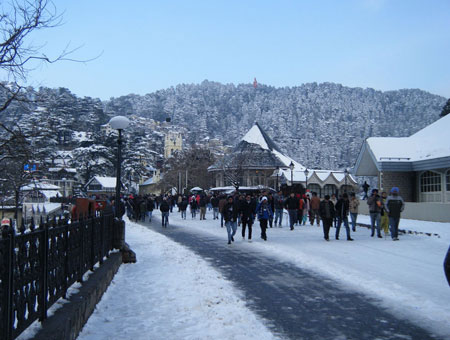 The Ridge – the cultural center of Shimla