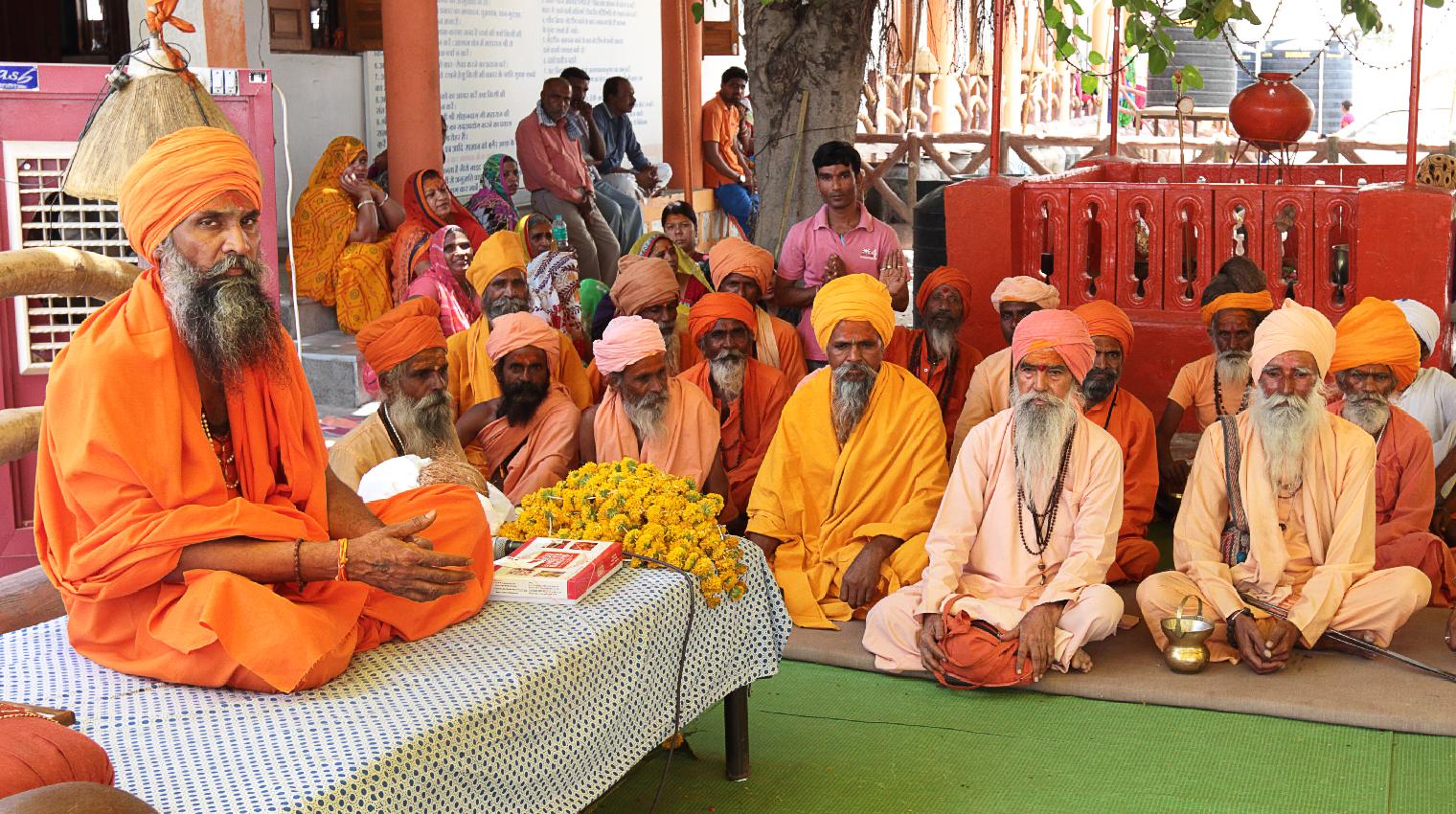 Satsangs during Allahabad Kumbh Mela
