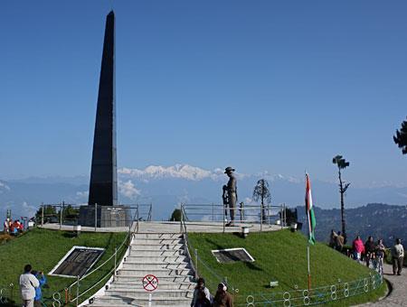 Batasia Loop in Darjeeling