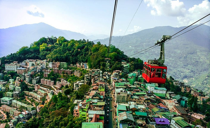 Cable Ride in Gangtok