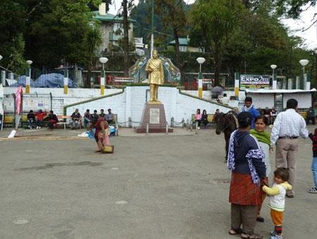 Chowrasta in Darjeeling