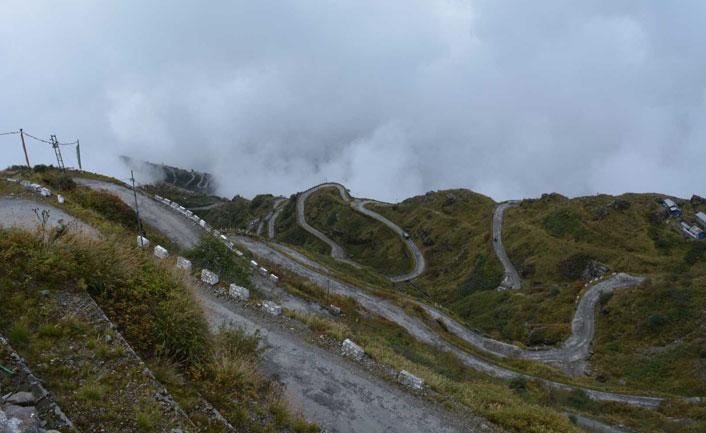 Cycling trip in Gangtok
