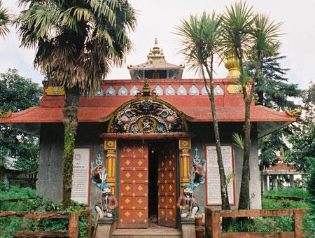 Dhirdham Temple in Darjeeling
