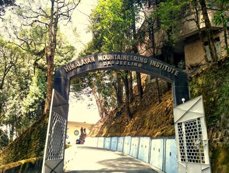 Himalayan Mountaineering Institute (HMI) in Darjeeling