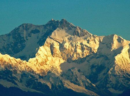 Kanchenjunga Mountain in Gangtok